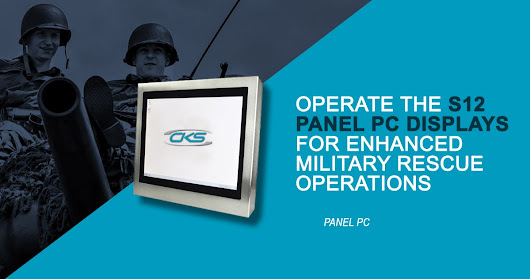 Operate S12 Panel PC Displays for Enhanced Military Rescue Operations