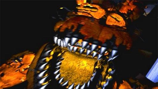 Five Nights at Freddy's 4 Jack-O-Bonnie Jumpscare (FNAF 4 ...