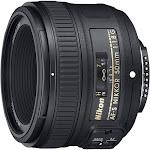 Nikon Nikkor AF-S Lens for Nikon F - 50mm - F/1.8