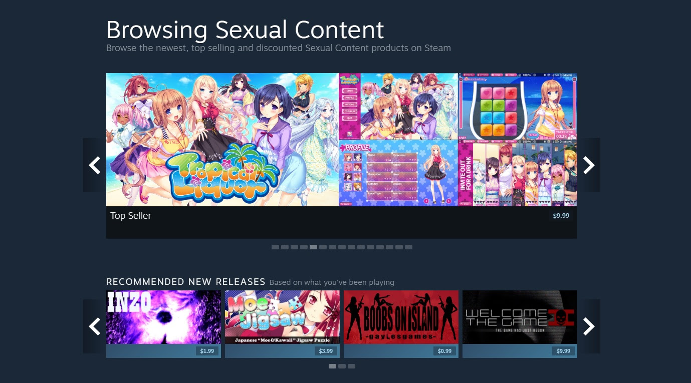 Valve is suddenly targeting adult visual novels for removal from Steam screenshot