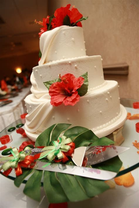 Best 25  Hawaiian wedding cakes ideas on Pinterest
