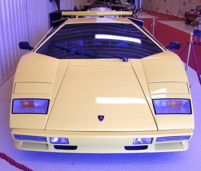 countach frontal