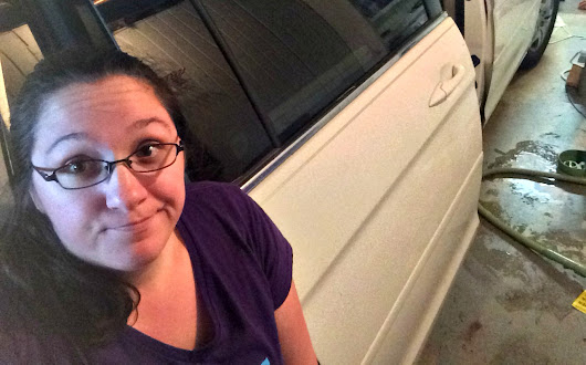 If your kid leaves the van door hanging open... (a messy #momlife tale) -