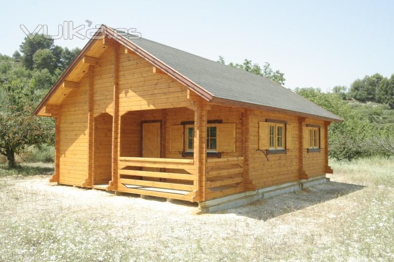 Casas de madera prefabricadas casa tipo cabanas for Precios de cabanas prefabricadas