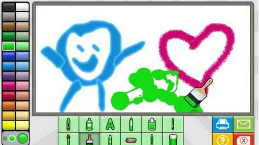 free draw online art and creativity game for kids. nick jr free ...