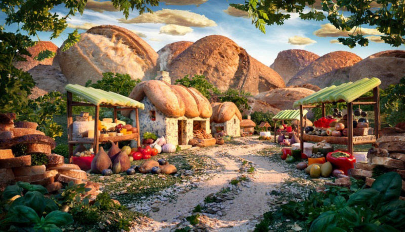 As paisagens com comida de Carl Warner 23