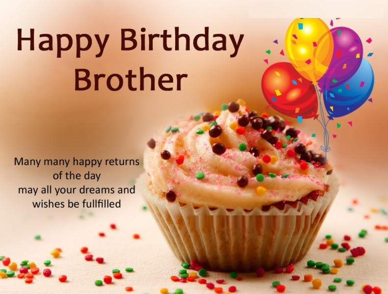 29 Birthday Greetings For Brother