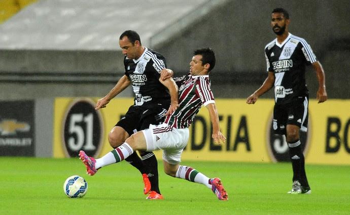 Fluminense x Ponte Preta maracanã (Foto: Agência Estado)