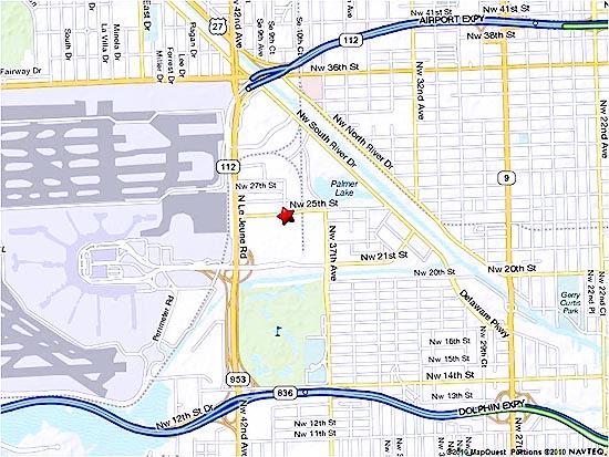 mia mover miami airport map