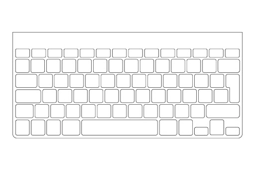 picture about Printable Keyboard Stickers known as 59 [pdf] TEMPLATE FOR BUMPER STICKER PRINTABLE and Down load ZIP