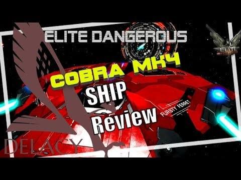 Elite Dangerous Adventures: Elite Dangerous Cobra Mk4 Review