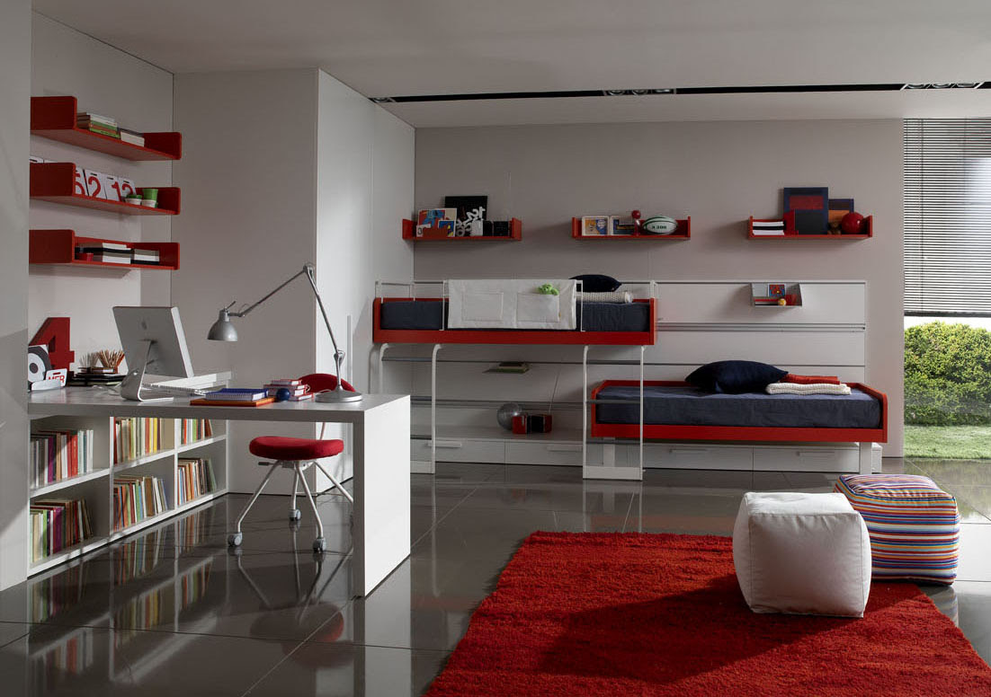 Twin Bedding Teen Room Designs From Zalf
