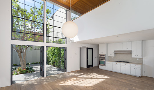 Frank Gehry's cubist compound in Hollywood listed for $15K a month