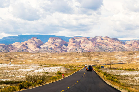 Driving from Moab to Capitol Reef National Park, Utah – Camera and a Canvas