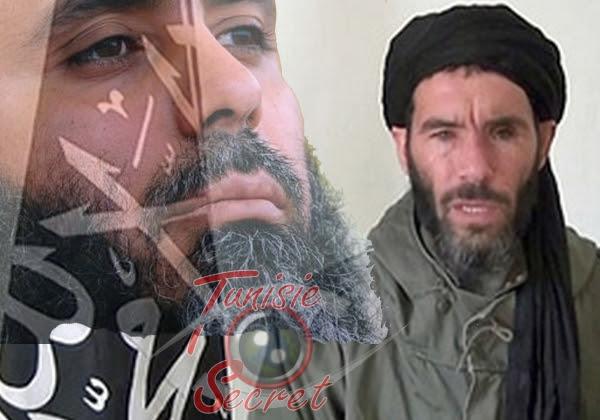 Seifallah Ben Hassine et Mokhtar Belmokhtar, les plus dangereux terroristes du Maghreb.