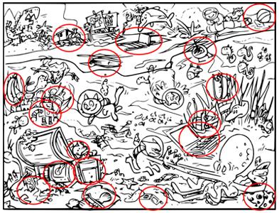 Encuentra El Objeto Oculto En El Dibujo Wallpaperworld1stcom