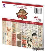 Набор бумаги от Prima - Allstar Paper Pad, 48л. - ScrapUA.com