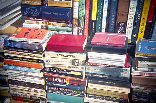 Flea Market Book Seller