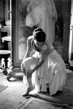 Italy, 1987Photographer: Ferdinando SciannaModel: Marpessa Hennink