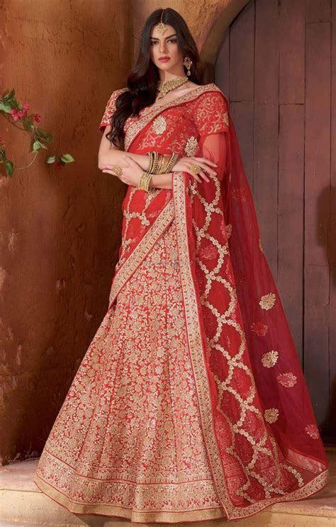 Indian Wedding Reception Dress For Bride