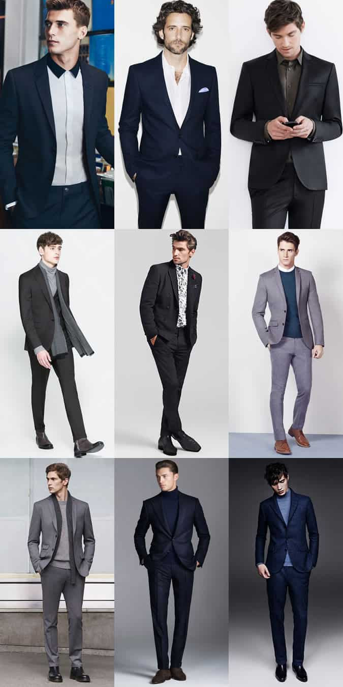 Men's Date Outfit Inspiration Lookbook - Suits and Tailoring - The Fancy Restaurant Date