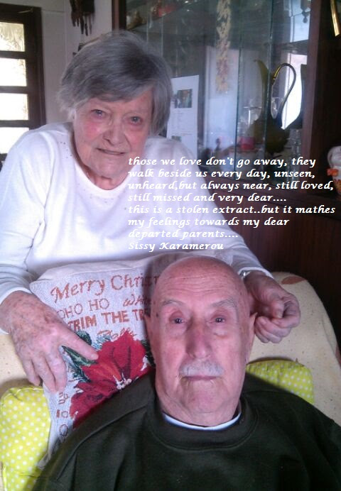 ……to my beloved departed parents….