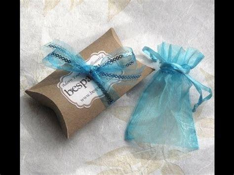 DIY Boxes: How to Make a Pillow Box Tutorial   handmade