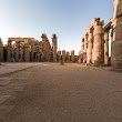 Court of Ramesses II at Luxor Temple Complex