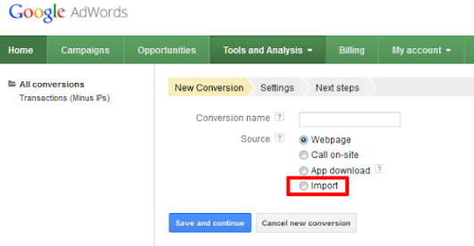 AdWords Debuts Offline Conversion Tracking For Full Sales Cycle Optimization