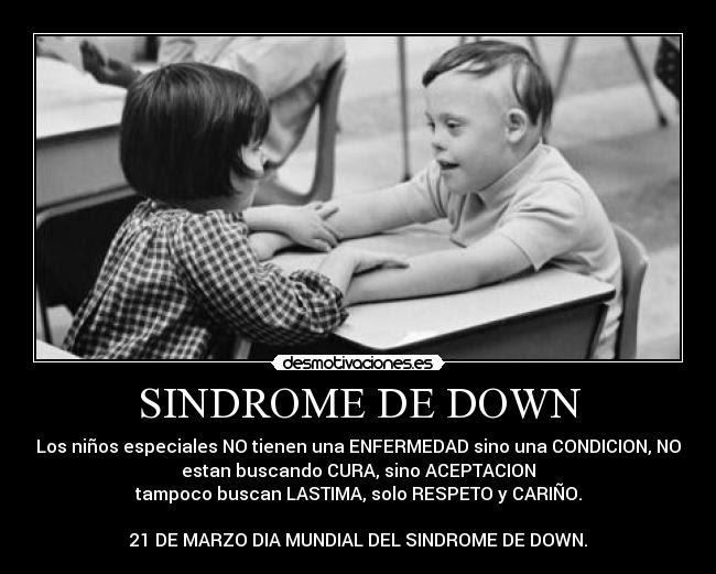 Frases Bonitas Sobre El Sindrome De Down Lamaran L