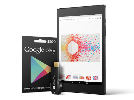 Get Your Google Play On with a Nexus 9, Chromecast & $100 Google Play Card