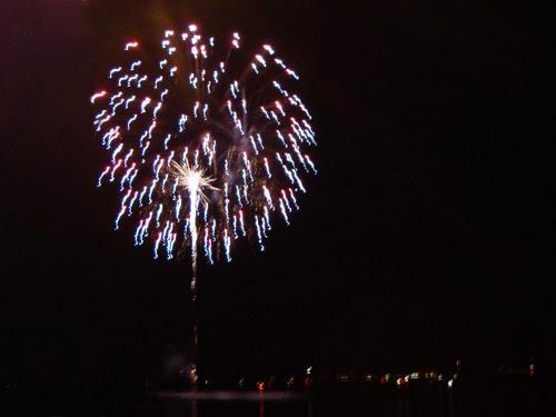 Canada Day fireworks, Bronte Pier, Canada Day 2010