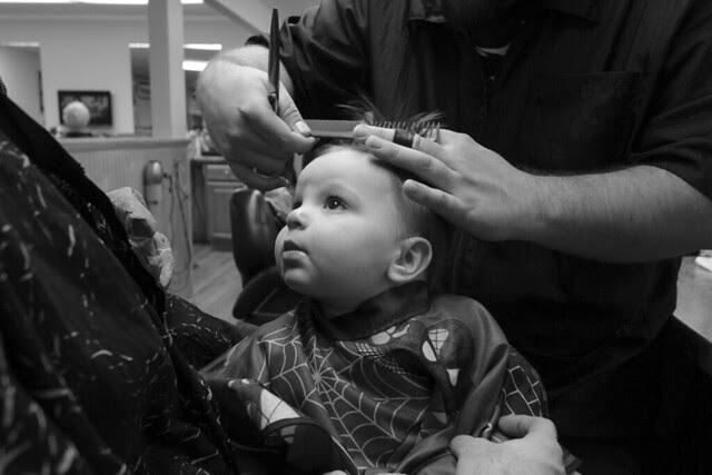 Noah's First Haircut