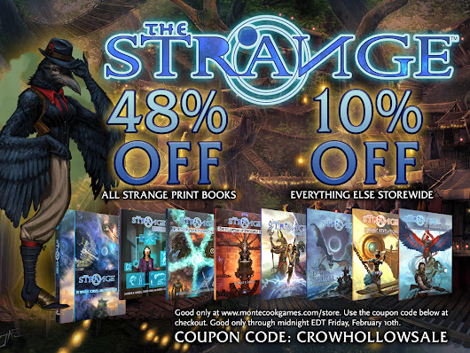 The Strange Crow Hollow Sale