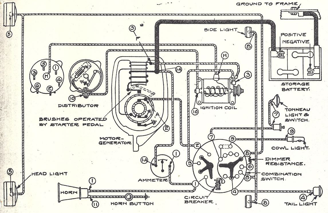 Diagram  Wiring Diagram For Garden Tractors With A Delco