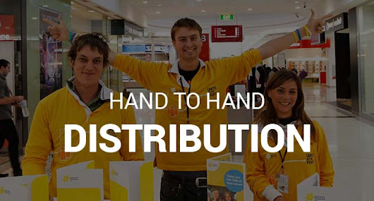 Hand To Hand - Leaflet Distribution Team