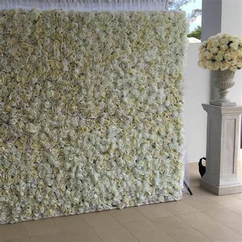White flower wall www.flowerwallco.com.au #flowerwall #