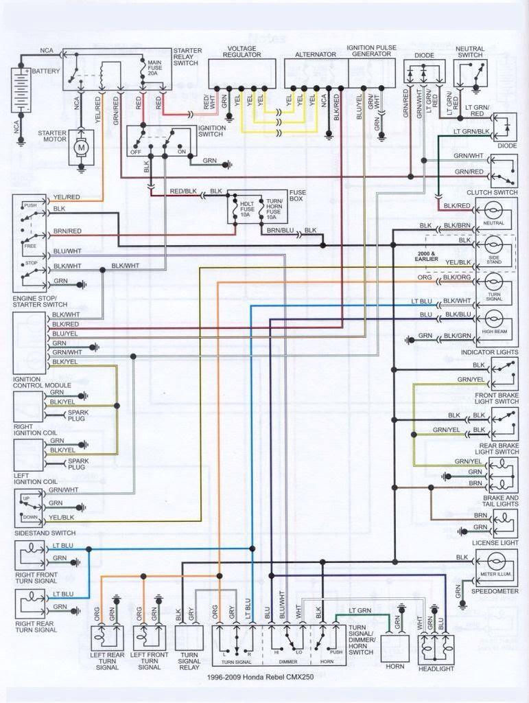 2012 Honda Rebel Wiring Diagram