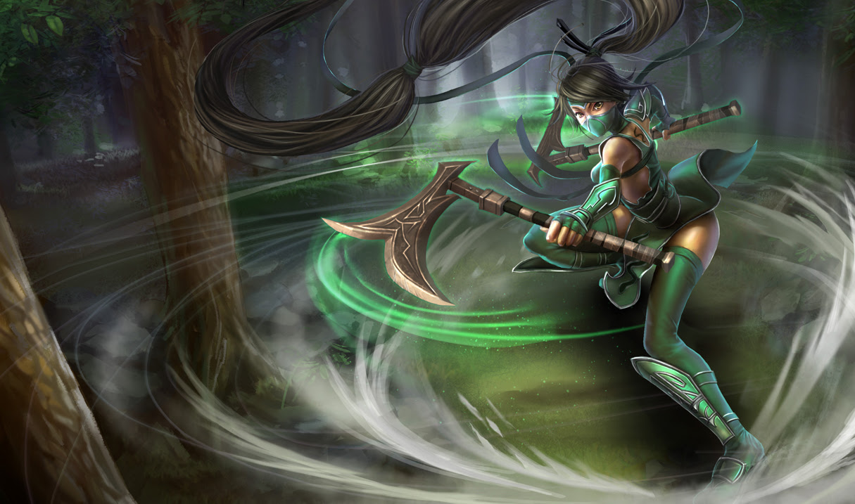 Akali League Of Legends Wallpapers