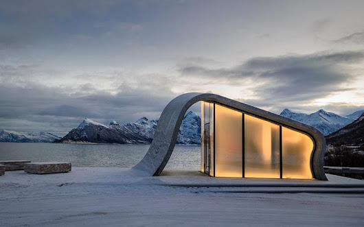 Norway has just opened the world's most beautiful public loo