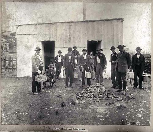 The rat catchers, 1900