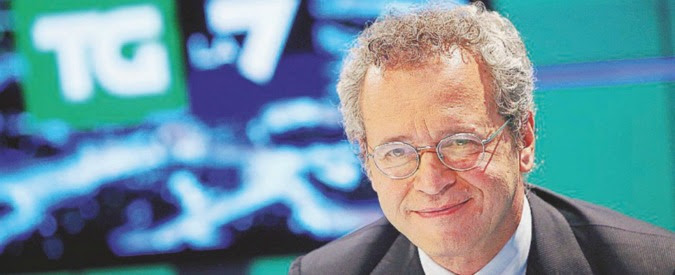 """Riforma Rai, Mentana: """"Così la tv di Stato ritorna a dipendere dall'esecutivo"""""""