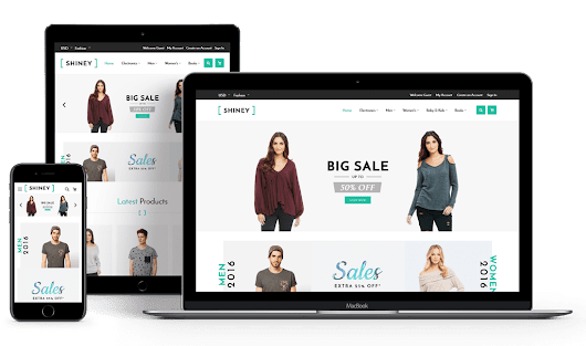 Shiney – eCommerce Theme for Magento® 2