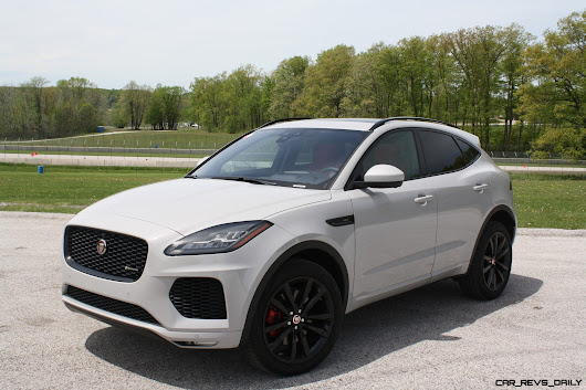 Road Test Review – 2018 Jaguar E-Pace P300 R-Dynamic – By Carl Malek