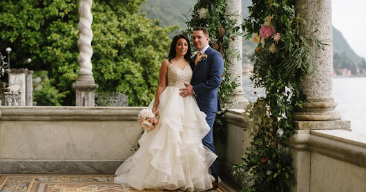 Villa Monastero weddings | Elope at Villa Monastero in Varenna lake Como