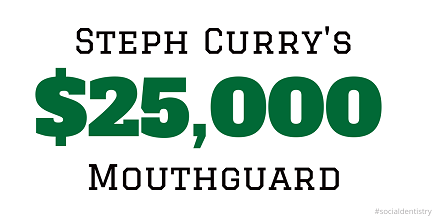 Steph Curry's $25,000 Mouthguard Is For Sale