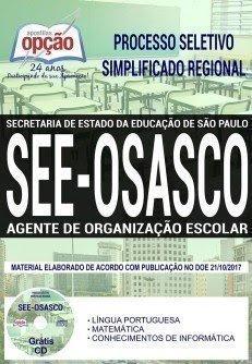 Apostilas processo seletivo SME Diretoria de Ensino de Osasco
