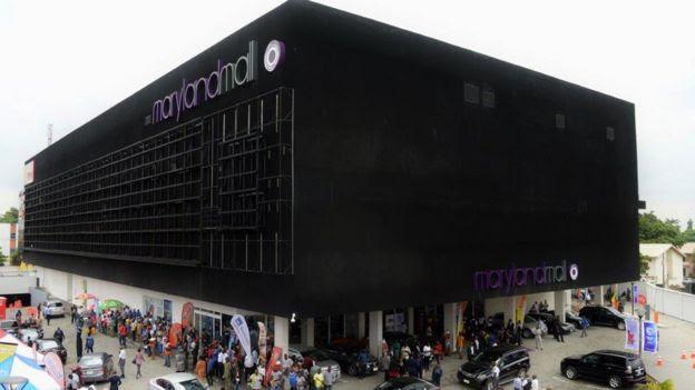 Maryland Mall in Lagos, Nigeria