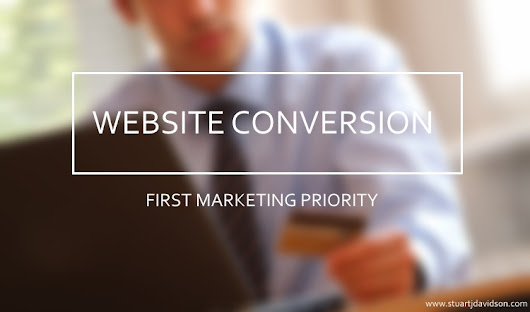 Website Conversion Should Be A Marketing Priority