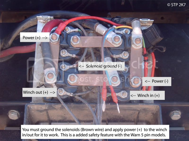 4 warn winch solenoid wiring diagram image 4